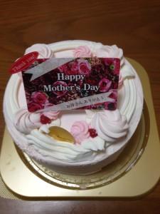 パソコン廃棄のデュオ:母の日ケーキ